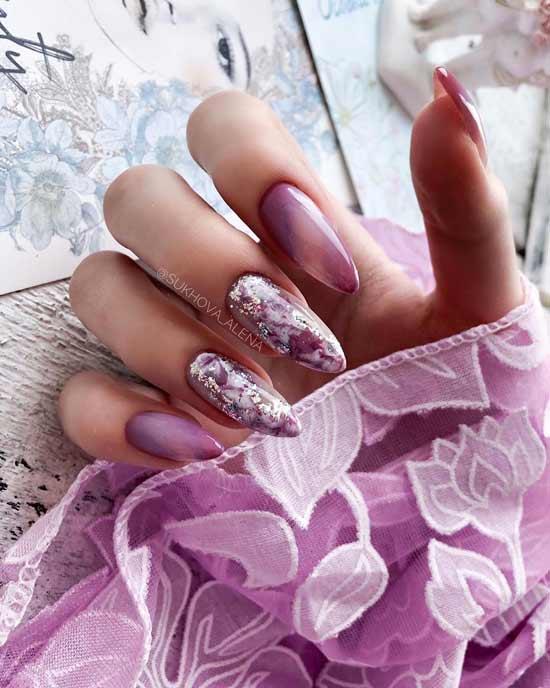 красивый маникюр на ногтях