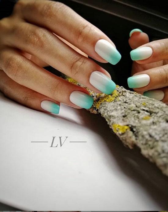 Градиентный маникюр: 108 фото, лучший нейл-арт из Инстаграм