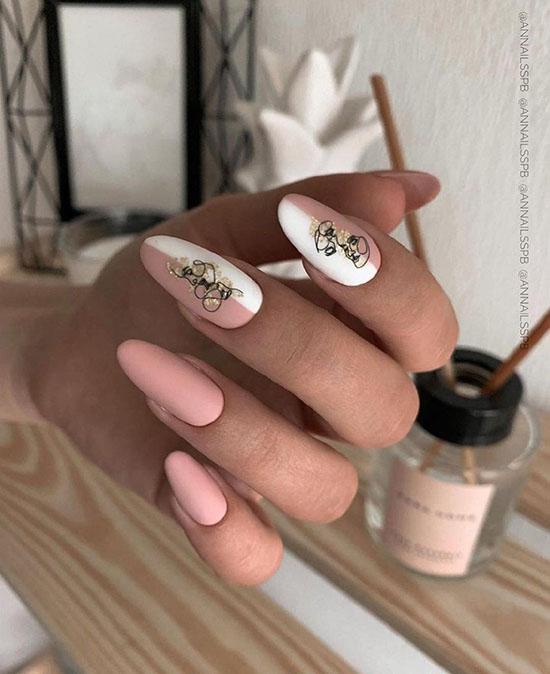 Осенний маникюр 2020: фото, красивые новинки дизайна ногтей