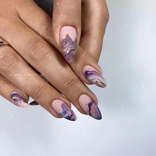 Осенний дизайн ногтей 2021: 100 фото, трендовые новинки