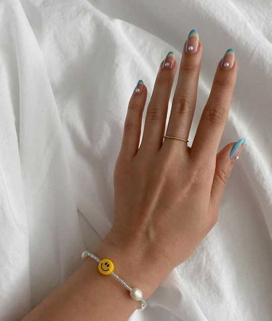 весенний дизайн ногтей