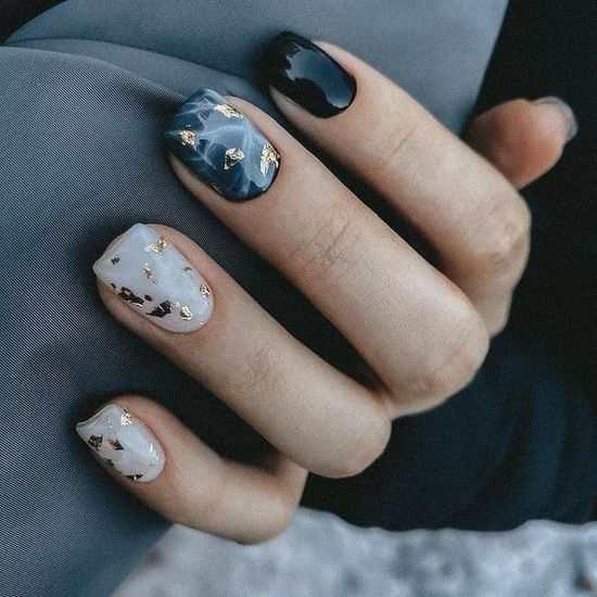 Маникюр на квадратные ногти 2021: 100 фото, красивый дизайн