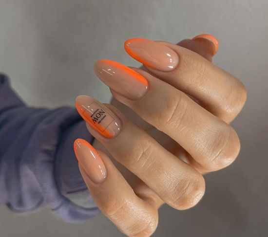 Летний френч 2021: более 100 фото, модный дизайн ногтей