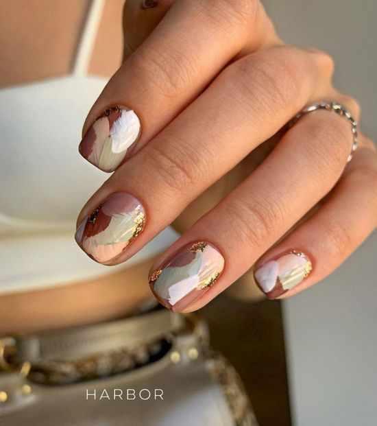 тренды на короткие ногти