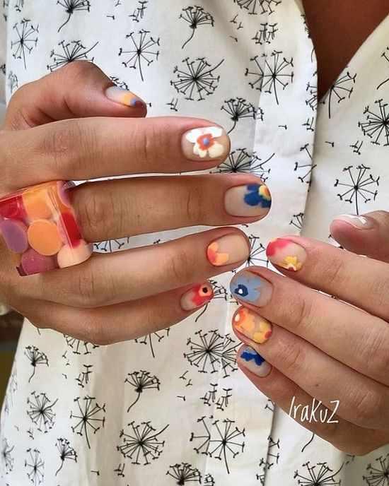Тренды маникюра на короткие ногти 2021: стильный дизайн