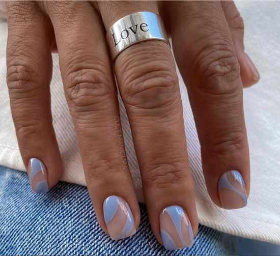 тренды маникюра на короткие ногти