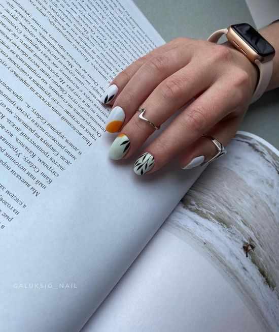 Модный осенний маникюр 2021: красивые новинки, фото