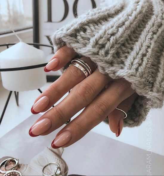 Осенний френч 2021: модные новинки дизайна